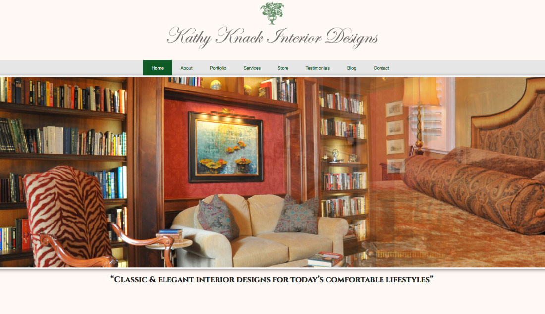 interior designer websites