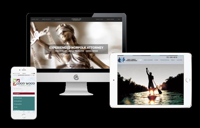 web designers Norfolk Virginia Beach