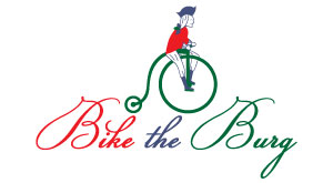 bike the burg logo