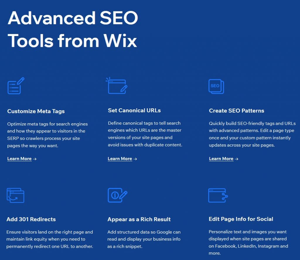 SEO Tools included