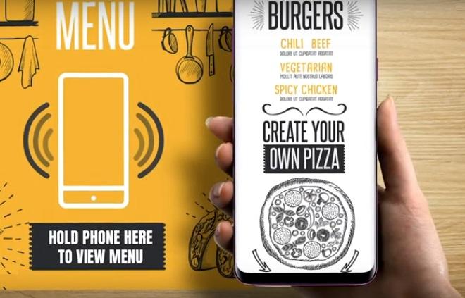 touchless menu 757
